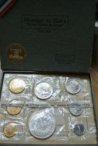 France FDC.1972 Coffret FDC 1972 - Monnaie de Paris