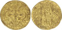 France Franc à Pied, Charles V (King since 1364 to 1380) - F to VF - Gold