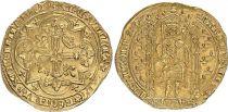 France Franc à Pied, Charles V (King since 1364 to 1380) - VF