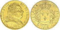 France France 20 Francs Louis XVIII - 1814 A Paris - Gold
