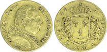 France France 20 Francs Louis XVIII - 1815 L Bayonne - VF - Gold