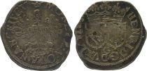 France Gros,  Duché de Lorraine - Henri II (1608-1624) - 3ème ex