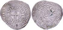 France Gros à la Couronne Philippe VI - 1337-1340 Argent