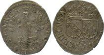 France Gros à la légende inversé, Duché de Lorraine - Henri II (1608-1624)