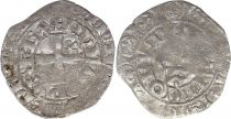 France Gros au lis Philippe VI - 1341-1342 Silver - 10 th ex.