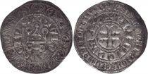 France Gros Tournois -  O long  - Philippe IV - 1290-1295 - Silver 1th ex