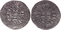 France Gros Tournois -  O long  - Philippe IV - 1290-1295 - Silver 2nd ex