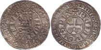France Gros Tournois -  O long  - Philippe IV - 1290-1295 - Silver 5nd ex