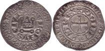 France Gros Tournois, à l\'O Rond - Philippe IV - 1290-1295 - Argent - 13ème ex