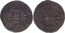 France Gros Tournois, à l\'O Rond - Philippe IV - 1290-1295 - Argent - 1er ex