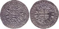 France Gros Tournois, à l\'O Rond - Philippe IV - 1290-1295 - Argent - 6ème ex