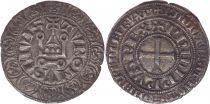 France Gros Tournois, à l\'O Rond - Philippe IV - 1290-1295 - Argent - 7ème ex