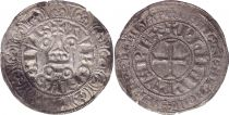 France Gros Tournois with O circle  - Philippe IV - 1290-1295 - Silver 10th ex