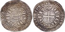 France Gros Tournois with O circle  - Philippe IV - 1290-1295 - Silver 11th ex