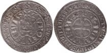 France Gros Tournois with O circle  - Philippe IV - 1290-1295 - Silver 12th ex