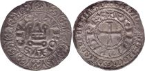 France Gros Tournois with O circle  - Philippe IV - 1290-1295 - Silver 13th ex