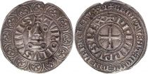 France Gros Tournois with O circle  - Philippe IV - 1290-1295 - Silver 8th ex