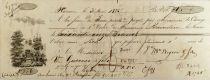 France Guérin et Fils - Lettre de Change (Première) 1835 - Lyon - TTB+