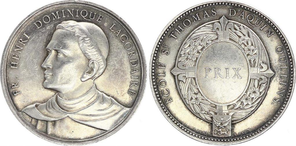 France Henri Dominique Lacordaire - Ecole St Thomas d\'Aquin  - vers 1860