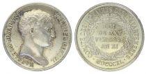 France Jeton de notaire -Napoléon Bonaparte - 1840