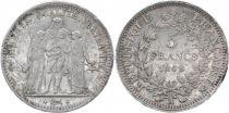 France KM.756.1 5 Francs, Hercule II e République - 1848 A Paris