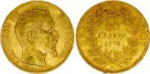 France KM.781.1 GAD.1061 20 Francs, Napoleon III Empereur 1856 A Paris