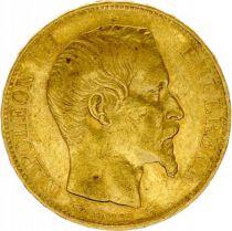 France KM.781.1 GAD.1061 20 Francs, Napoléon III Tête nue - 1856 A Paris