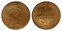 France KM.826.1 GAD.88 1 Centime, Cérès - Third Républic - 1895 A