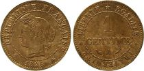 France KM.826.1 GAD.88 1 Centime, Cérès - Third Républic - 1896 A