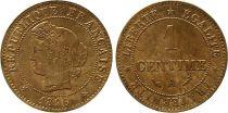 France KM.826.1 GAD.88 1 Centime, Cérès - Troisième République - 1896 A