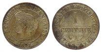 France KM.826.1 GAD.88 1 Centime, Cérès - Troisième République - 1897 A
