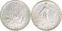 France KM.854 GAD.420 50 Centimes, Semeuse - 1917