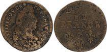 France Liard de France - Louis XIV - 1699 & Aix en Provence - Fine