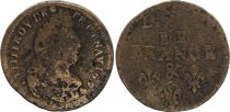 France Liard de France - Louis XIV - 1699 & Aix en Provence - TB