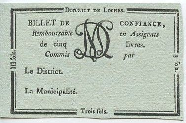 France Loches District -1792 - Classé R5 !