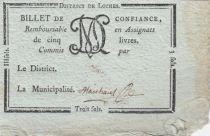 France Loches District -1792 - Classé R5 !