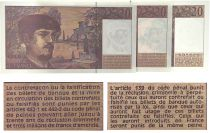 France Lot 3 x 20 Francs Debussy - 1980 à 1997 - Neuf