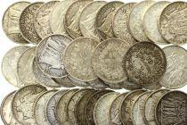 France Lot 40 x 10 Francs Hercule - Argent 1965 à 1967 soit 1 kg de Pièces