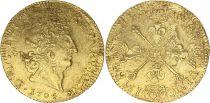 France Louis d\'or, Louis XIV  aux Insignes - 1704 La Rochelle H - Gold