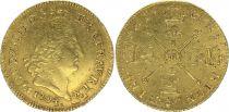 France Louis d\'or, Louis XIV  aux Insignes - 1704 Toulouse M - Gold