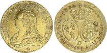 France Louis d\'or, Louis XV aux lunettes - 1726 D Lyon - Or