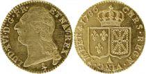 France Louis d\'or, Louis XVI à la tête nue - 1786 A Paris