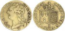 France Louis d\'or, Louis XVI à la tête nue - 1787 - Limoges - TB+