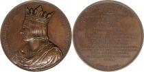 France Louis VIII dit Le Lion  -  Série des rois de France par Caqué - 1837