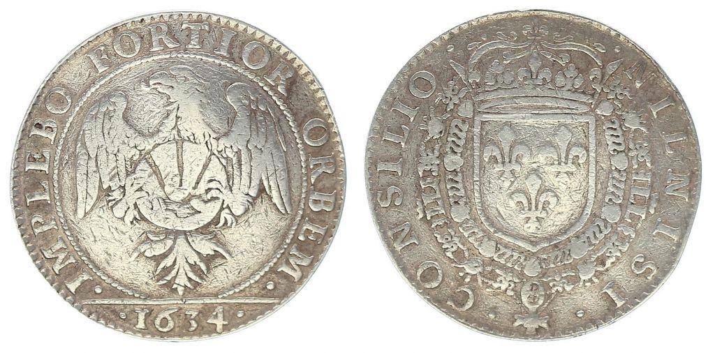 France Louis XIII Conseil du Roi  - 1634