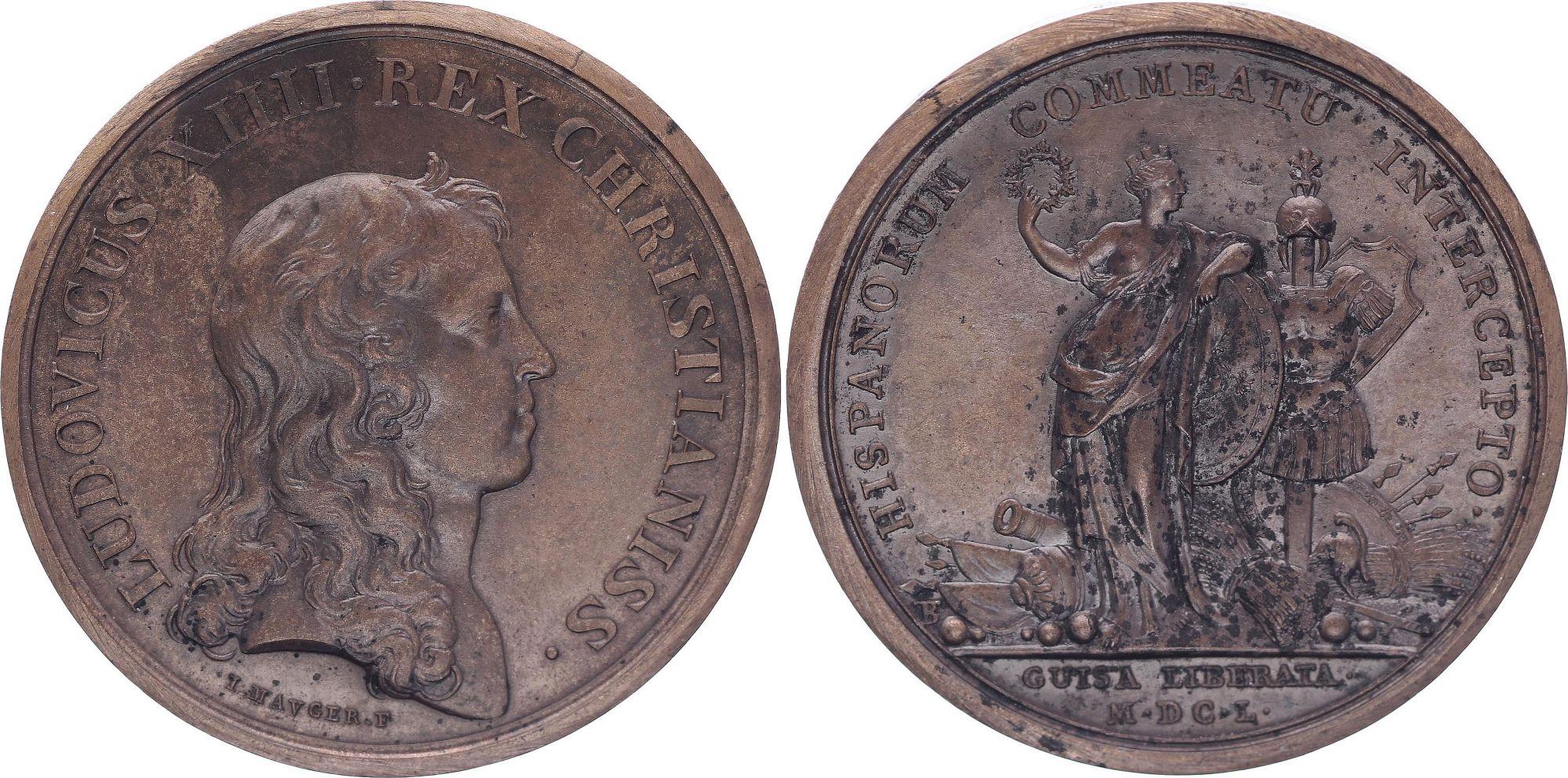 France Louis XIV - Levée du siège de Guise - 1650 par Mauger