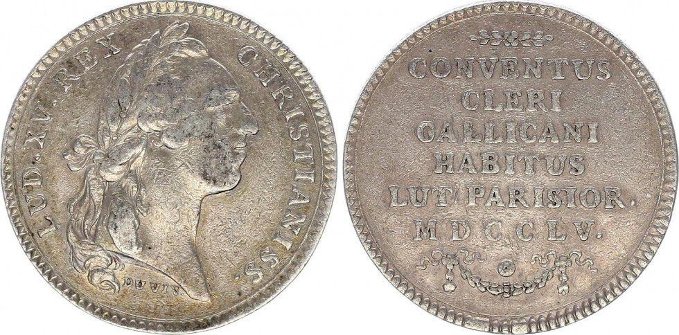 France Louis XV - Assemblée du Clergé - 1755