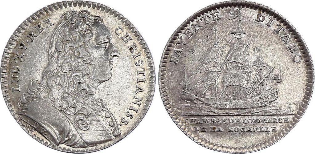 France Louis XV - Chambre de Commerce de La Rochelle - vers 1740