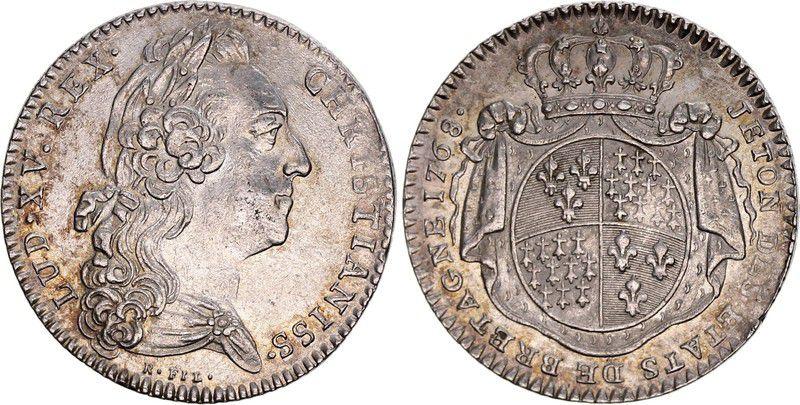 France Louis XV - Etats de Bretagne (Rennes)