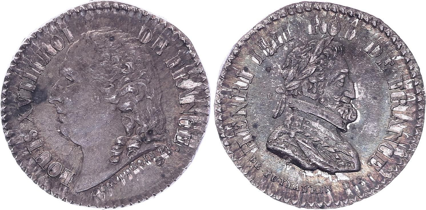 France Louis XVIII - Henri IV - 1815-1824 - par Puy Maurin